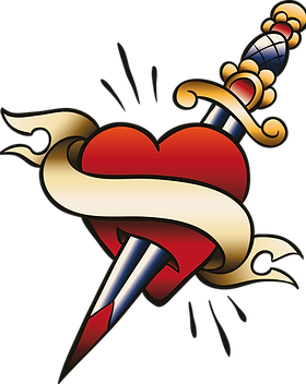 Heart Pierced with Sword