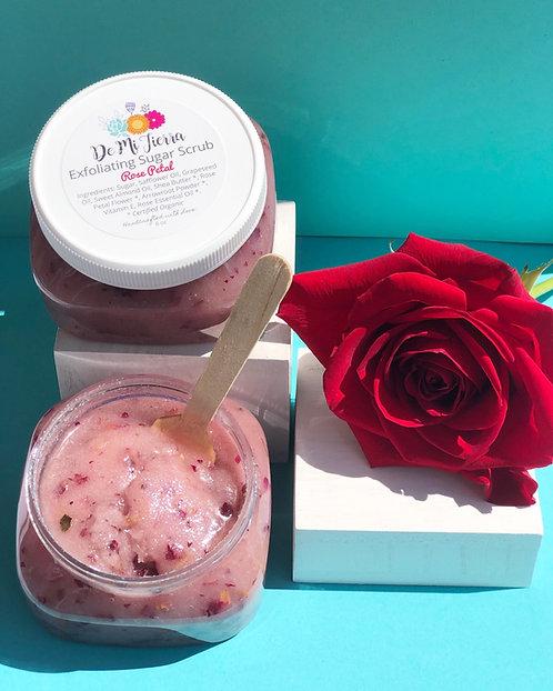 Rose Petal Exfoliating Sugar Scrub