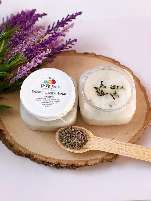 Lavender Exfoliating Sugar Scrub