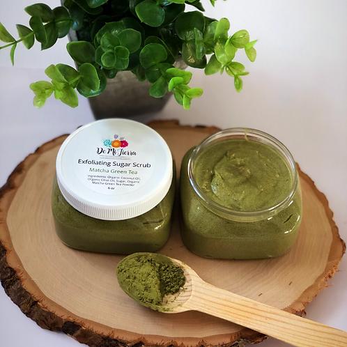 Matcha Green Tea Exfoliating Sugar Scrub