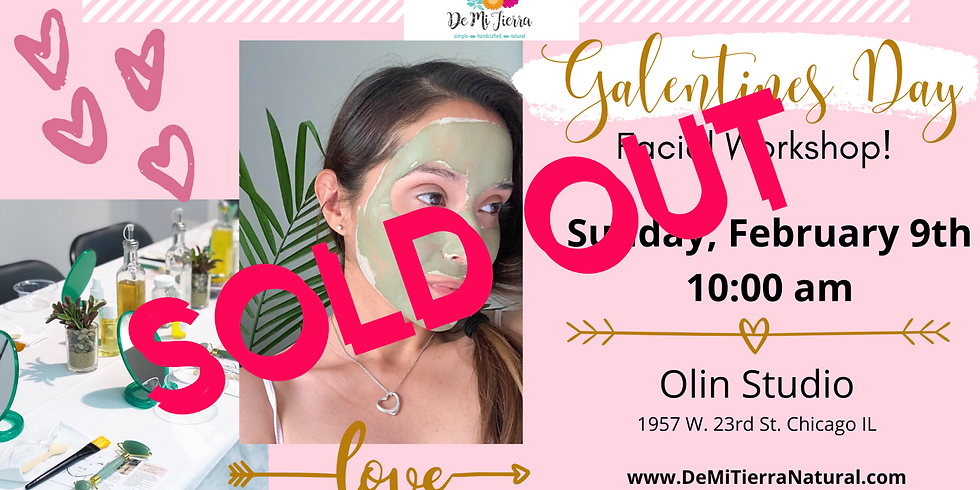 Galentine's Day Facial Workshop