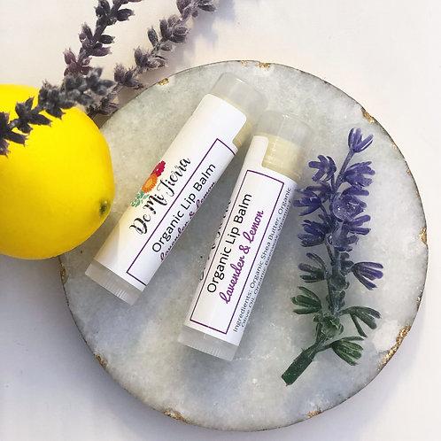 Lavender and Lemon Lip Balm