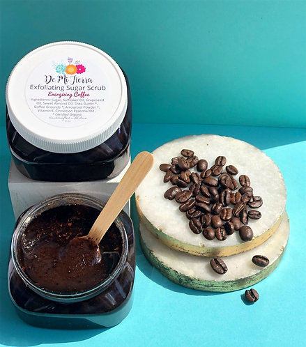 Energizing Coffee Exfoliating Sugar Scrub
