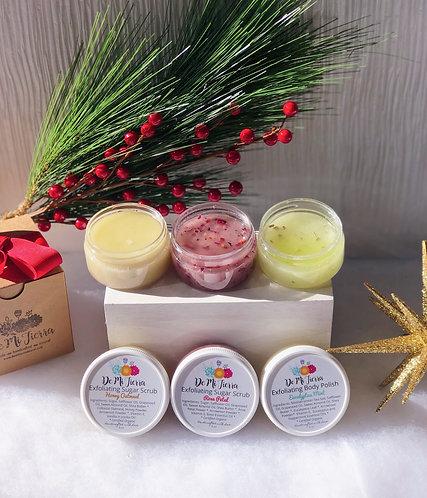 Holiday Mini Scrub Gift Set