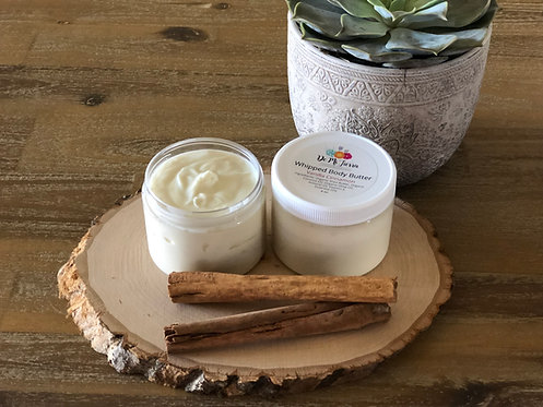 Vanilla Cinnamon Whipped Body Butter