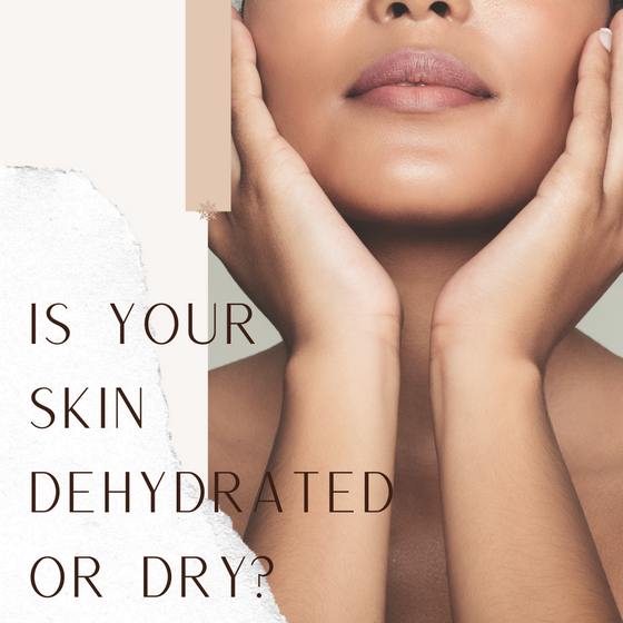 Is your skin dehydrated or dry? This is how you can tell the difference.