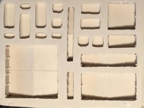 W18 - Sci-Fi Bumper Wall - Silicone Mold