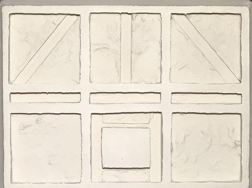 W28 - Tudor Stucco Walls #2 - Silicone Mold