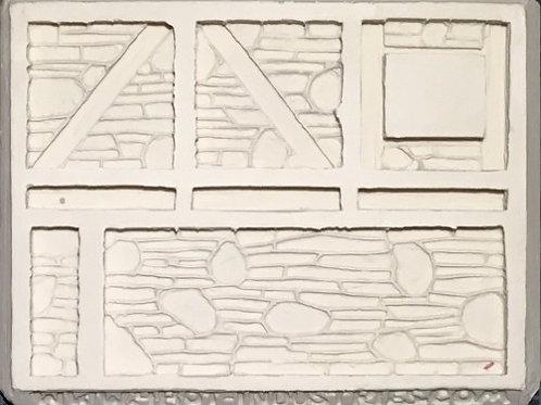 W23 - Tudor Stone Walls #2 - Silicone Mold