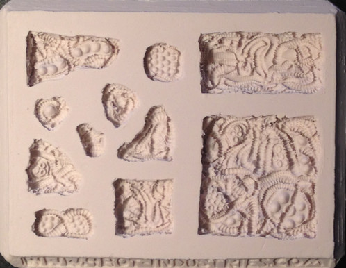 A SciFi Alien Organism Tile Silicone Mold - Make your own gaming table