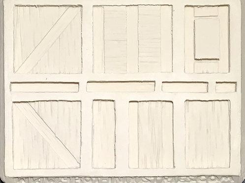 W26 - Tudor Wood Plank Walls #2 - Silicone Mold