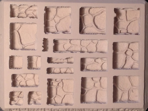 G13 - Cavern Ground/Floor Terrain - Silicone Mold