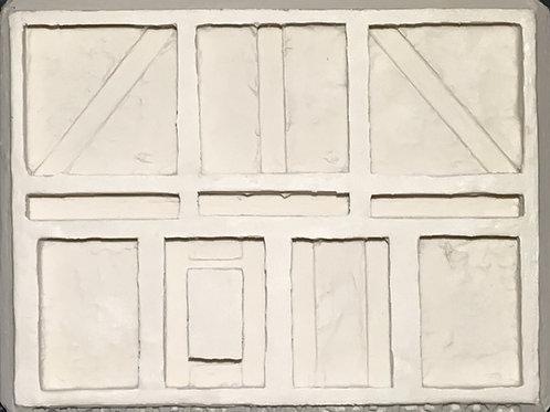 W27 - Tudor Stucco Walls #1 - Silicone Mold