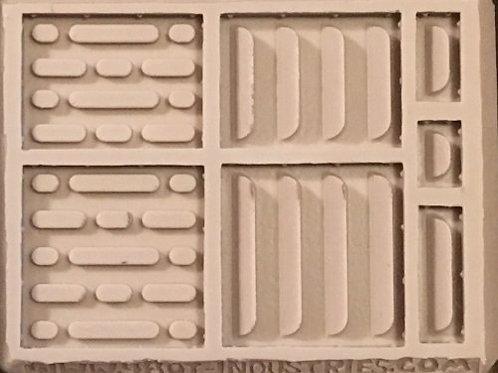 W50 - Sci-Fi Large Mixed Wall Panels