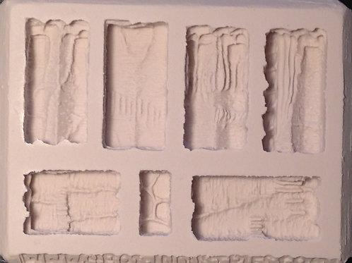 W04 - Cavern Walls Terrain - Silicone Mold