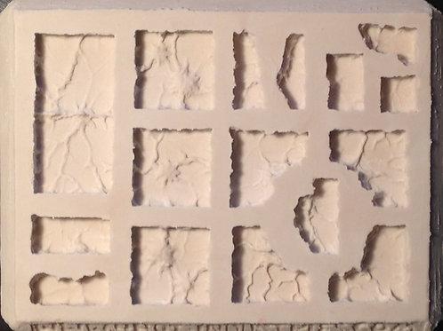 G06 - Lava / Worn Ground Terrain - Silicone Mold