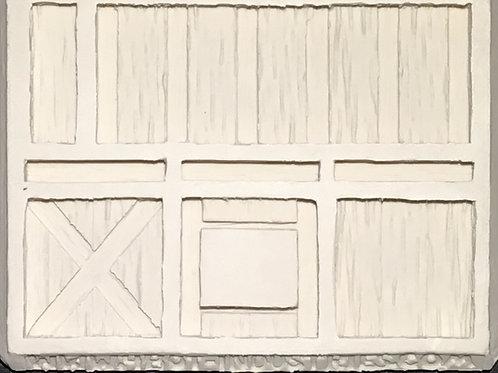 W25 - Tudor Wood Plank Walls #1 - Silicone Mold