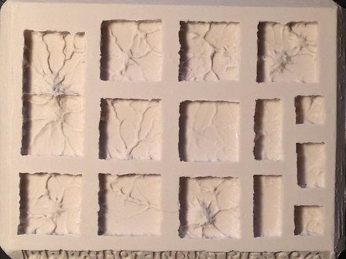 G04 - Lava / Worn Ground Terrain - Silicone Mold