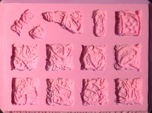 A02- Sci-Fi Alien / Organism Tile - Silicone Mold