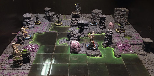 Alien vs Predator Miniature Gaming Terrain