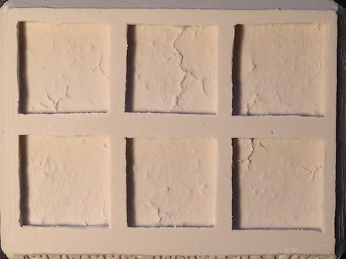 W02 - Damaged Wall Sections - Silicone Mold