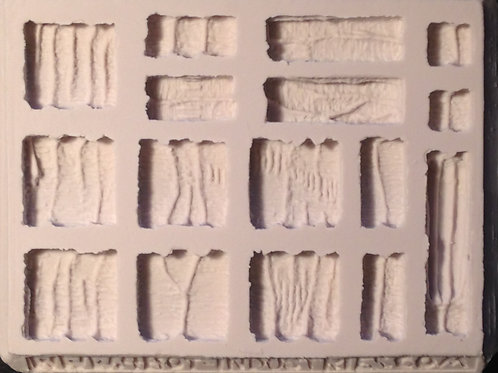 W10-Cavernous Wall Terrain - Silicone Mold