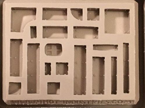 W41 - Sci-Fi Brick and Corners