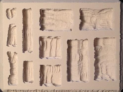 W08 - Cavern Walls Terrain - Silicone Mold