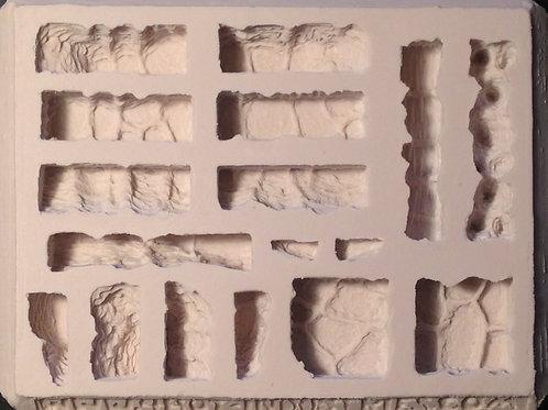 W09-Cavern Arch/Bridge Terrain - Silicone Mold