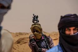 Pause in der Sahara