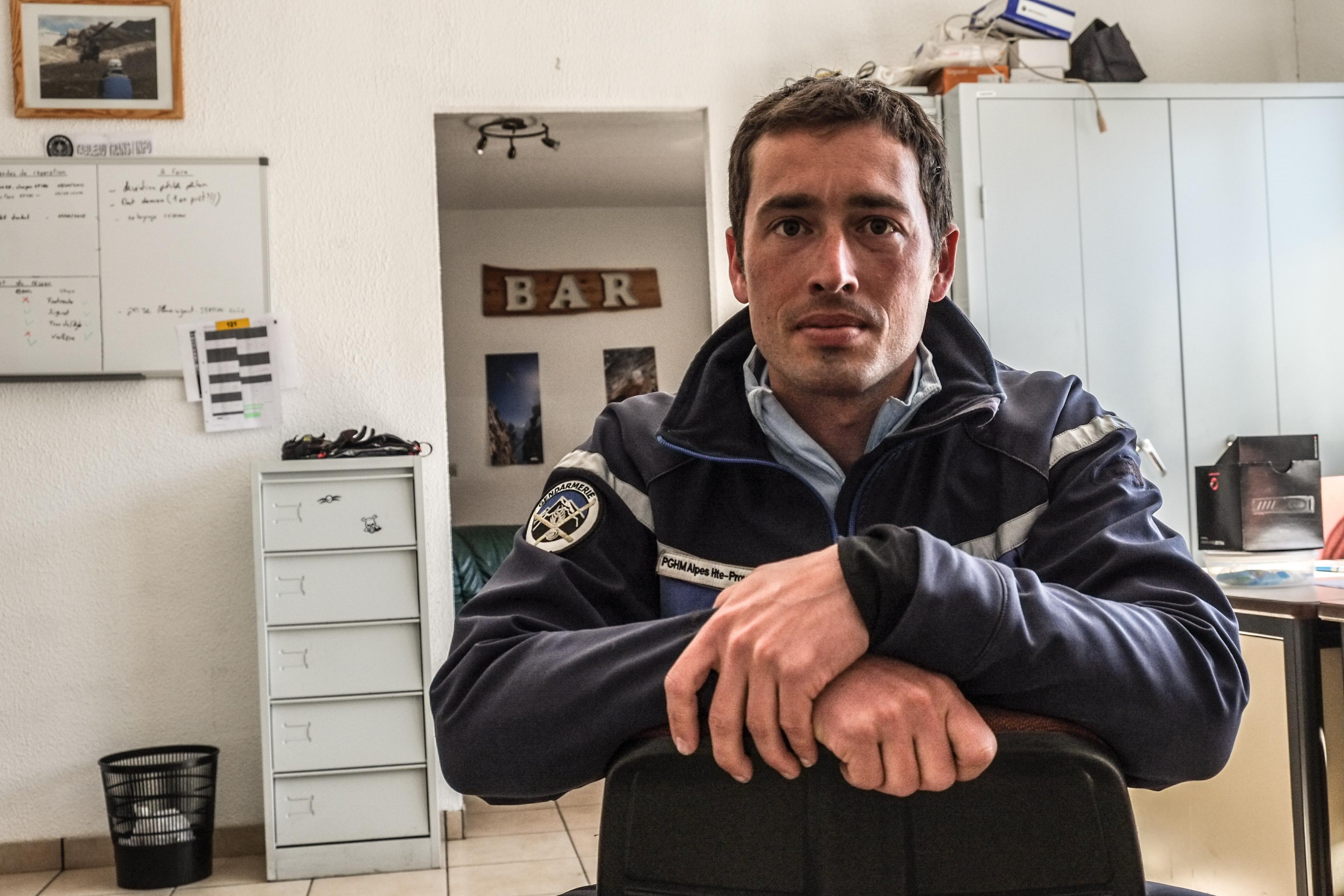 Einer der Männer, die versuchten, Menschen nach dem Germanwings-Absturz zu retten
