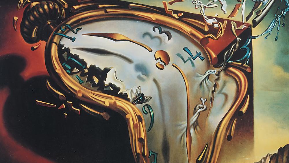 Tepaseul Salvador Dali (1904-1989) et la montre molle