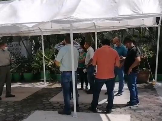Protestan trabajadores de SAGADEGRO, denuncian despidos injustificados