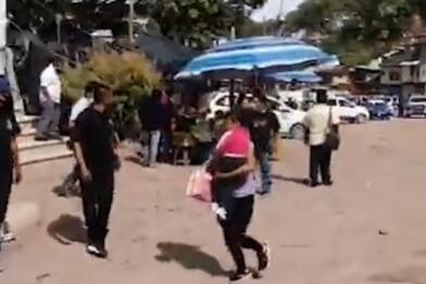 Enfrentamiento a balazos entre policías comunitarios y municipales en Xalpatláhuac