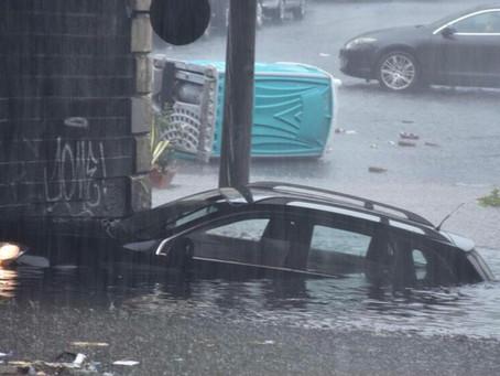 Fuertes lluvias causan graves afectaciones en Italia