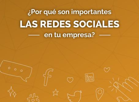 ¿Por qué son importantes las redes sociales para las empresas?