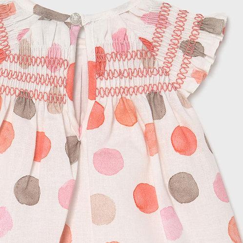 Mayoral Spring Dots Dress Set