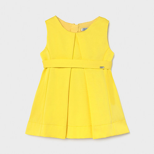 Mayoral Yellow A-line Dress