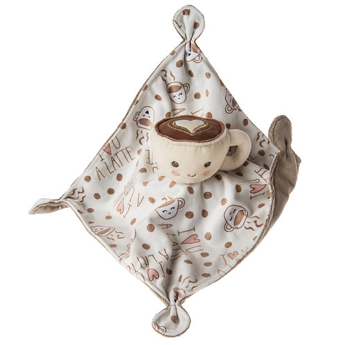 "Mary Meyer Sweet Soothie Latte Blanket 10x10"""