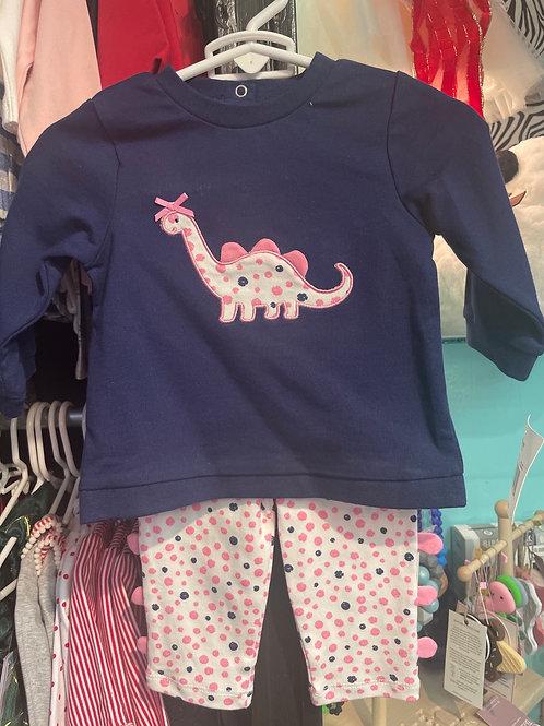 Little Me Dino 2PC Set