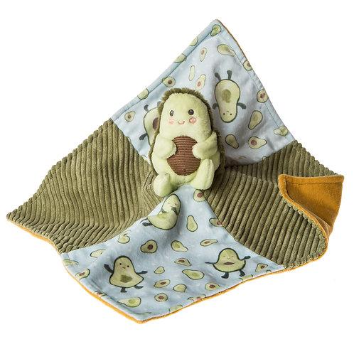 """Mary Meyer Yummy Avocado Blanket 13x13"""""""