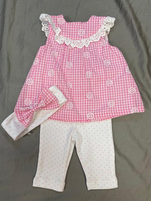 Little Me Pink 3PC Set