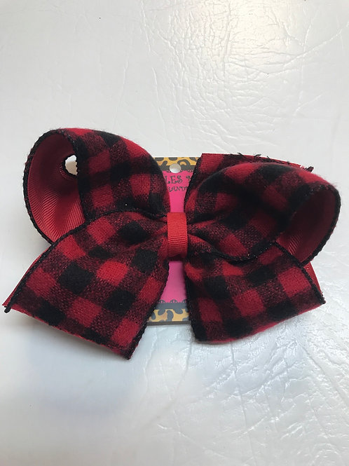 Wee Ones Flannel Bow