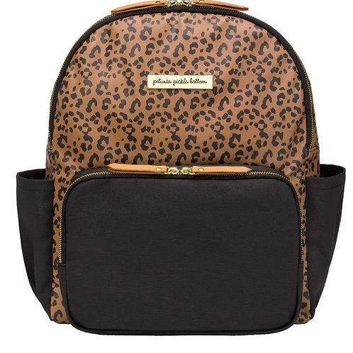 Petunia Pickle Bottom Leopard District Backpack