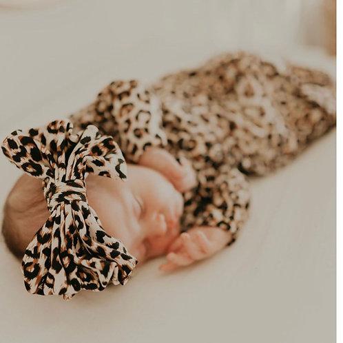 Queen Maddyn Leopard Baby Gown