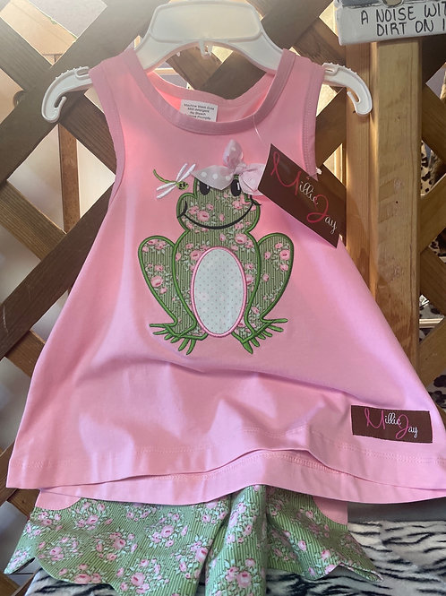 Millie Jay Frog 2PC Set