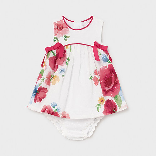 Mayoral Floral Dress w/Bloomers