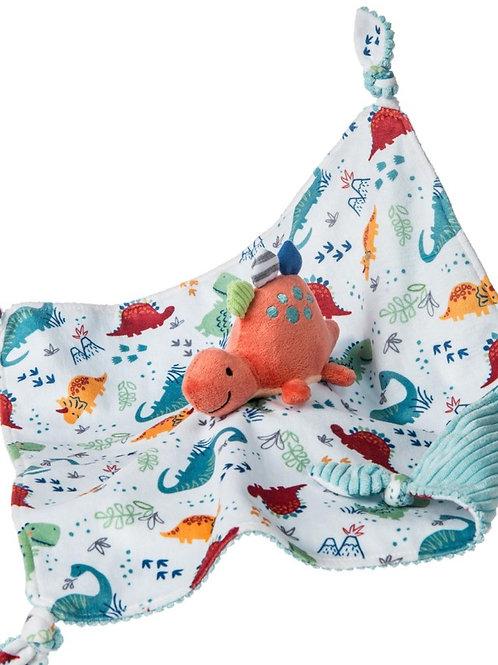 Mary Meyer Pebblesaurus Character Blanket – 13×13″