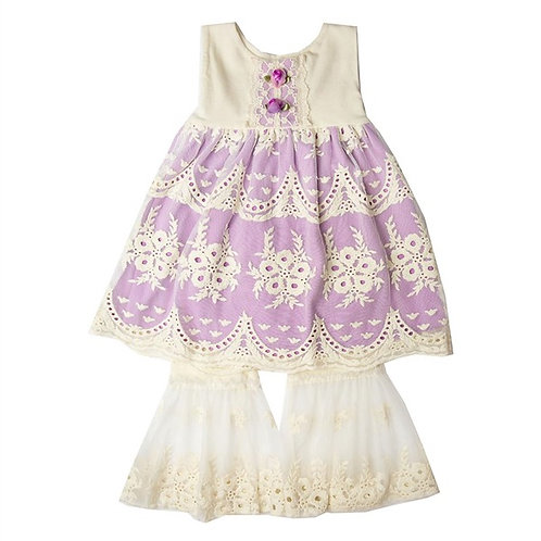 Haute Baby Lacy Lilac Swing Set