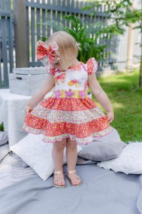 Roki & Zoi Butterfly Dress